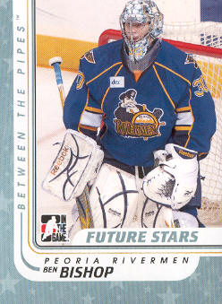 2010-11 Between The Pipes #49 Ben Bishop