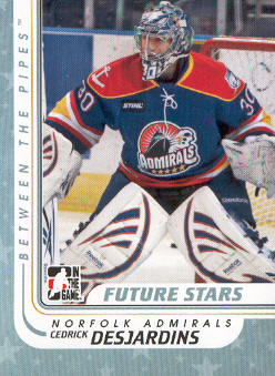 2010-11 Between The Pipes #53 Cedrik Desjardins