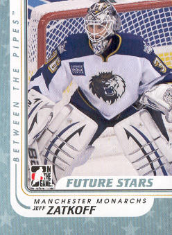 2010-11 Between The Pipes #65 Jeff Zatkoff