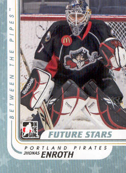 2010-11 Between The Pipes #67 Jhonas Enroth