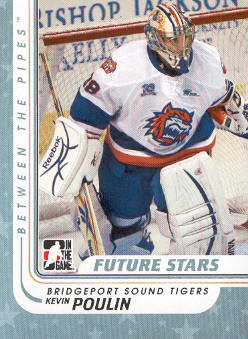 2010-11 Between The Pipes #72 Kevin Poulin