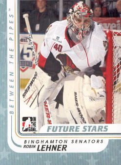 2010-11 Between The Pipes #83 Robin Lehner