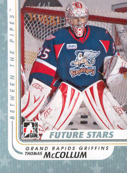2010-11 Between The Pipes #84 Thomas McCollum