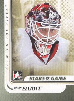 2010-11 Between The Pipes #92 Brian Elliott