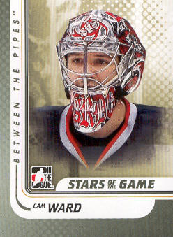 2010-11 Between The Pipes #93 Cam Ward