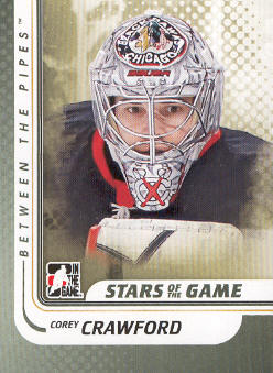 2010-11 Between The Pipes #97 Corey Crawford