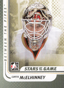 2010-11 Between The Pipes #100 Curtis McElhinney