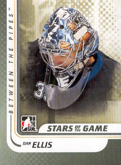 2010-11 Between The Pipes #101 Dan Ellis