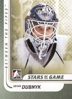 2010-11 Between The Pipes #102 Devan Dubnyk