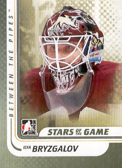 2010-11 Between The Pipes #106 Ilya Bryzgalov