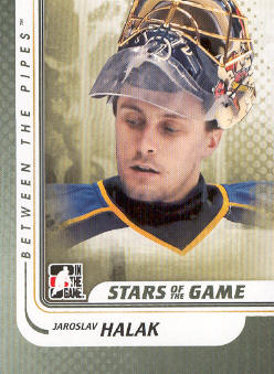 2010-11 Between The Pipes #108 Jaroslav Halak