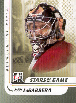 2010-11 Between The Pipes #109 Jason LaBarbera