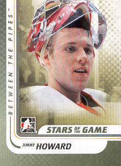 2010-11 Between The Pipes #110 Jimmy Howard