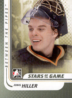 2010-11 Between The Pipes #112 Jonas Hiller