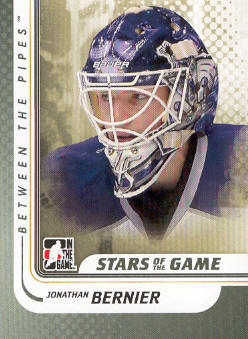 2010-11 Between The Pipes #113 Jonathan Bernier
