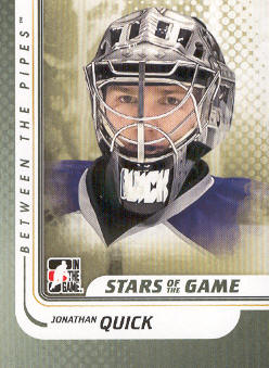 2010-11 Between The Pipes #114 Jonathan Quick