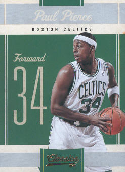 2010-11 Classics #51 Paul Pierce
