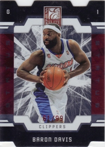 2009-10 Donruss Elite Status #46 Baron Davis/99