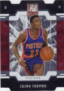 2009-10 Donruss Elite Status #158 Isiah Thomas/89