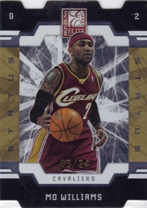 2009-10 Donruss Elite Status Gold #18 Mo Williams