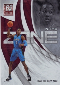 2009-10 Donruss Elite In the Zone Red #3 Dwight Howard