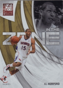 2009-10 Donruss Elite In the Zone Gold #10 Al Horford