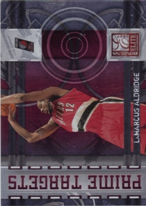 2009-10 Donruss Elite Prime Targets Red #18 LaMarcus Aldridge