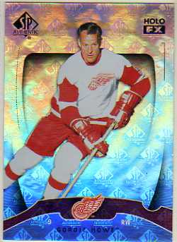 2009-10 SP Authentic Holoview FX #FX8 Gordie Howe