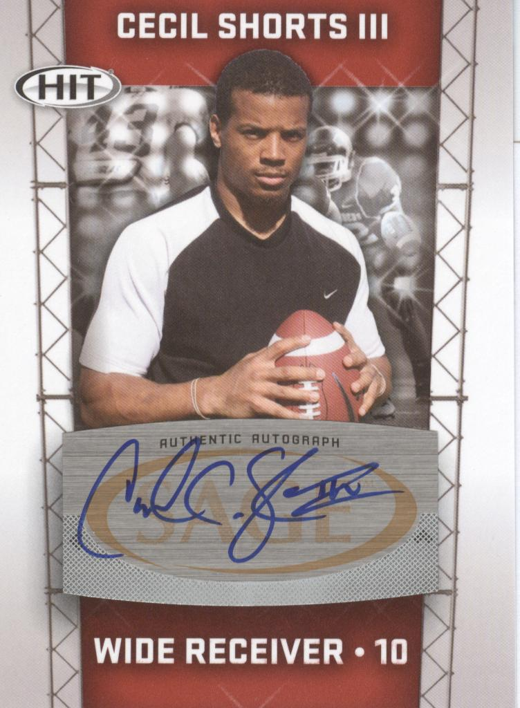 2011 SAGE HIT Autographs #69 Cecil Shorts