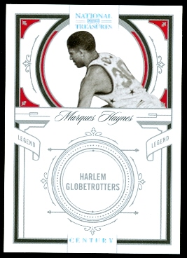2009-10 Playoff National Treasures Century Silver #147 Marques Haynes LEG