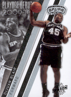2009-10 Panini Season Update Playoff Debuts #10 DeJuan Blair