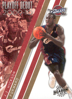 2009-10 Panini Season Update Playoff Debuts #13 J.J. Hickson