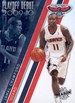 2009-10 Panini Season Update Playoff Debuts #17 Jamal Crawford
