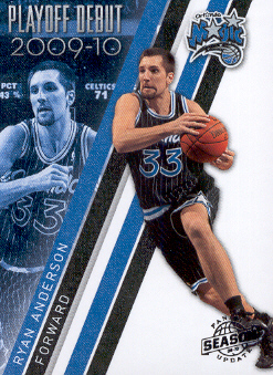 2009-10 Panini Season Update Playoff Debuts #19 Ryan Anderson