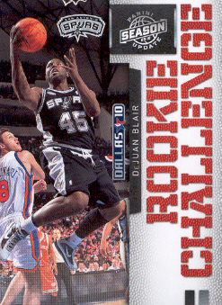 2009-10 Panini Season Update Rookie Challenge #7 DeJuan Blair