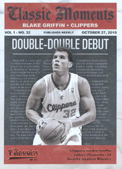 2010-11 Classics Classic Moments #10 Blake Griffin