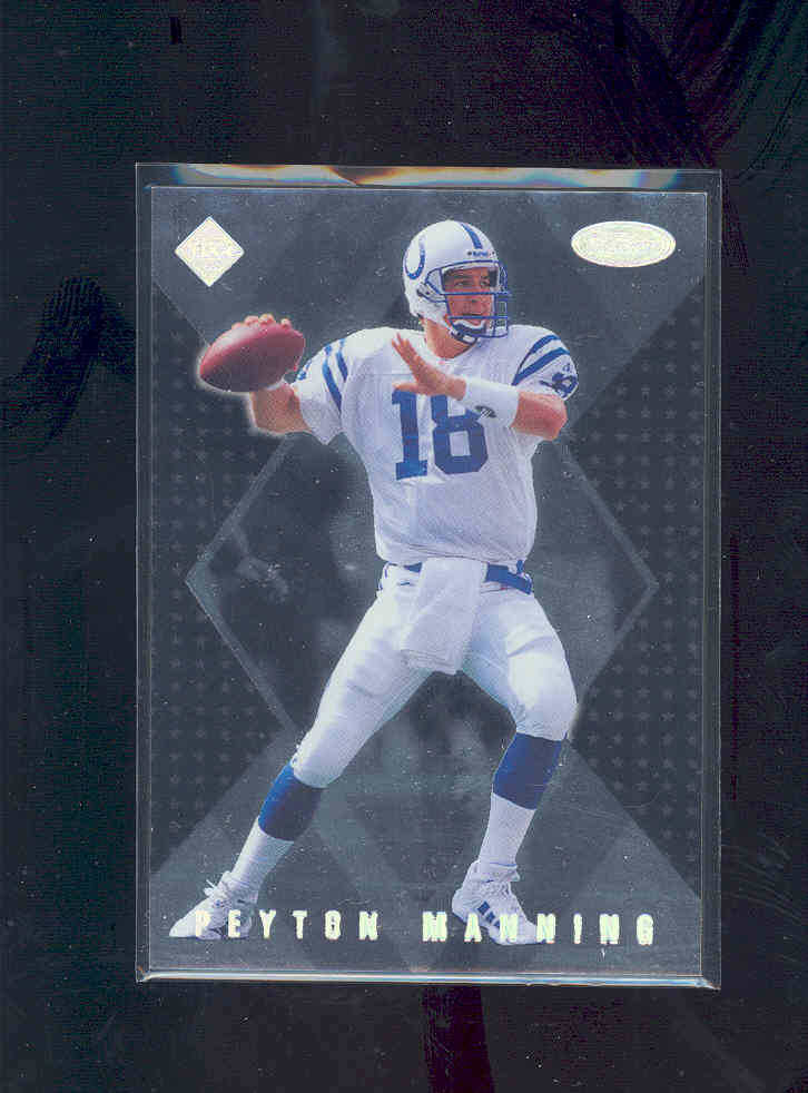 1998 Collector's Edge Masters 50-point #183 Peyton Manning SM