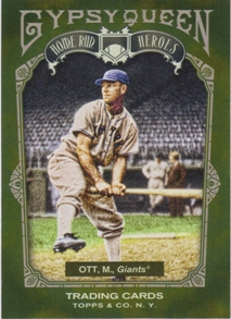 2011 Topps Gypsy Queen Home Run Heroes #HH22 Mel Ott