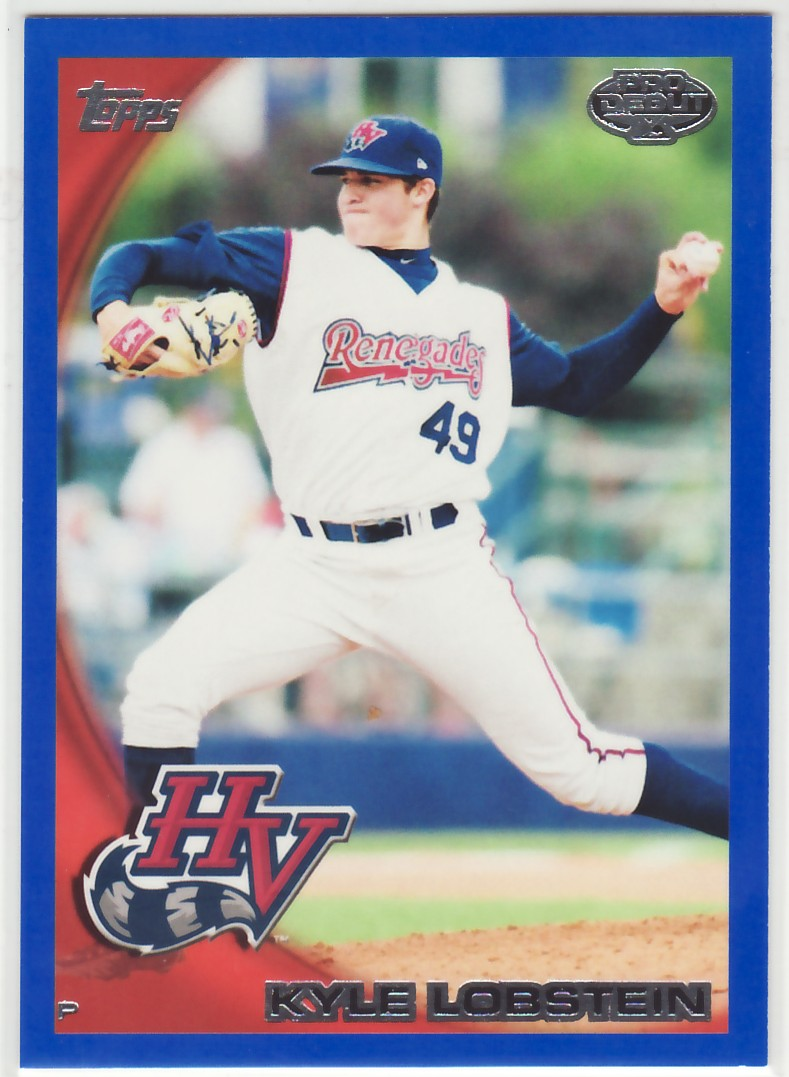 2010 Topps Pro Debut Blue #40 Kyle Lobstein