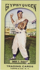 2011 Topps Gypsy Queen Mini #59A Duke Snider