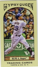 2011 Topps Gypsy Queen Mini #217 Adrian Beltre