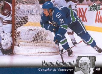 2010-11 Upper Deck French #12 Mason Raymond