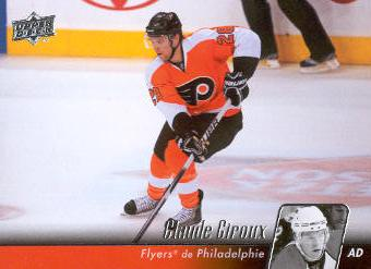 2010-11 Upper Deck French #57 Claude Giroux