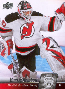 2010-11 Upper Deck French #84 Martin Brodeur