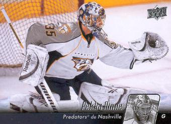 2010-11 Upper Deck French #92 Pekka Rinne