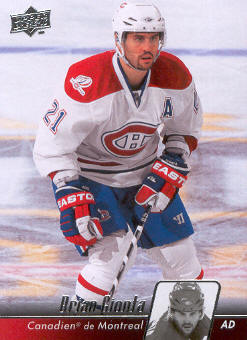 2010-11 Upper Deck French #97 Brian Gionta