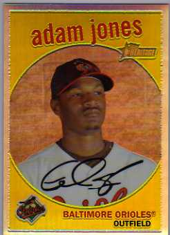 2008 Topps Heritage Chrome Refractors #C169 Adam Jones