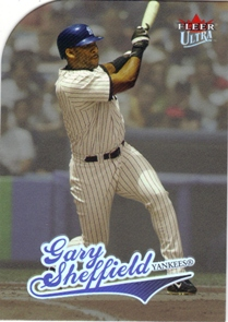 2004 Ultra Platinum Medallion #223 Gary Sheffield