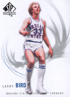 2010-11 SP Authentic #14 Larry Bird