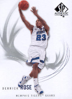 2010-11 SP Authentic #64 Derrick Rose front image